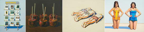 wayne thiebaud, springville museum of art, utah